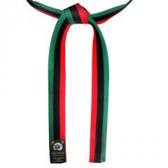 African flag belt