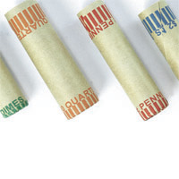 Cartridge Coin Wrappers - Carton of 1,000