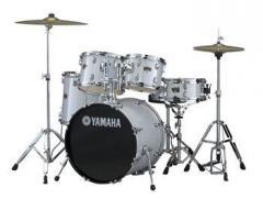 """YAMAHA - 20"""" Drum Kit w/Hardware - SILVER"""