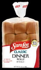 Sara Lee® White Dinner Rolls