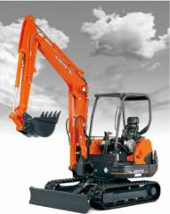 Excavator, Kubota KX121-3