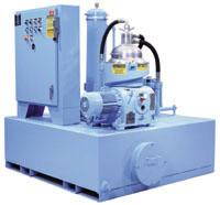 High-Speed, Disc-Bowl Centrifuges For Tramp Oil