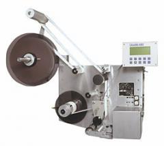Weber Model 3111 Pressure-Sensitive Label