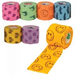 Andover Co-Flex® Smiley Face Bandages