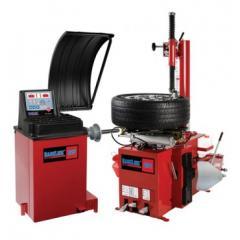 Baseline BL200 Tire Changer & BL225 Wheel