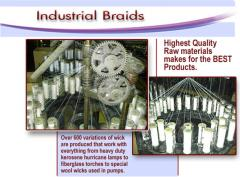 Industrial braids