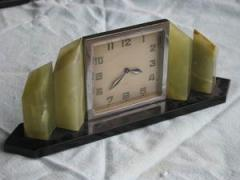 Swiss Art Deco Period 8-day Clock