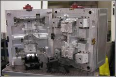 Aluminum production mold
