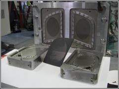 Speaker grill mold