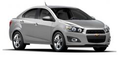 Vehicle Chevrolet Sonic Sedan 2LT 2012