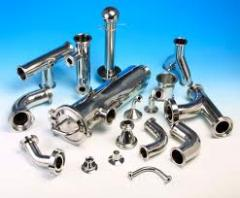 Stainless steel angels, channel, fittings