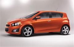 Vehicle Chevrolet Sonic 2012