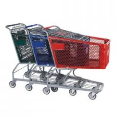 Plastic Shopping Carts with Microban