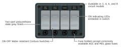 Contura Switch Water Resistant Fuse Panels