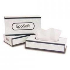 Bay West® EcoSoft™ Facial Tissue - 100 ct.