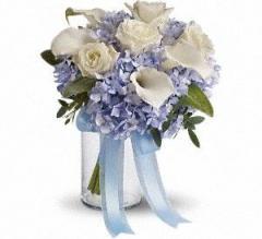 Love in Blue Bouquet