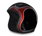 D.O.T. Daytona Cruiser- Pinned Black Cherry Helmet