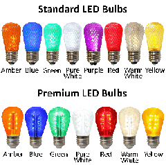 Premium LED S14 Retrofit Lamps