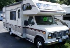 1990 Fleetwood RV JAMBOREE 23′ Party-Model MH/C