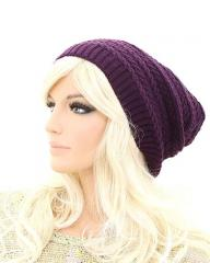 FASHION POM-POM KNIT BEANIE HAT