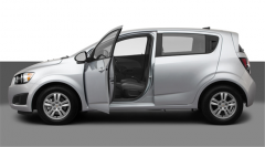 Vehicle Chevrolet Sonic LS 2012