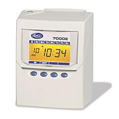 7000E Computerized Time Clock