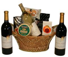Robert Mondavi Private Selection Trio Basket