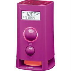 Sangean America Pink Multi-Function Upright AM/FM