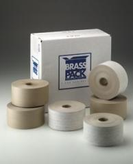 "Kraft Tape, Reinforced, BrassPack, 3"" x"
