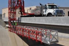 Bridge Inspection Platform, Terex HPT 16/52