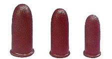 16 Mil Black Static Dissipative Finger Cots