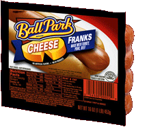 Ball Park® Cheese Franks Frankfurter