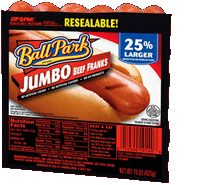 Ball Park Jumbo Beef Franks