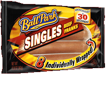 Ball Park Singles® Beef Franks