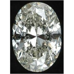 Oval Diamond, 0.38 Carat