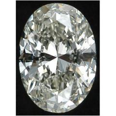 Oval Diamond, 0.38 Carat