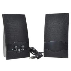 Standard Powered Speakers (Black)