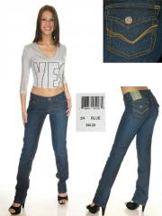 Straight Leg Embroidered Jeans by U.S. Polo Assn.