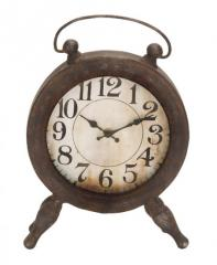 Antique Clock - Vintage Design - Wesson -