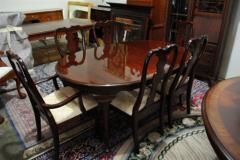 Queen Anne Style Mahogany Drexel Table