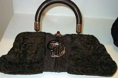 Christian Dior Carenina Frame Persian handbag