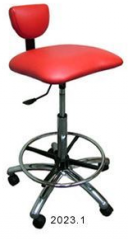 Collins 2023.1 Ergo Tall Stool w/ Foot Ring