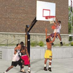 Bison Ultimate™ Fixed Height System  Basketball