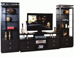"New York 68"" Media Wall Unit by Sunny"