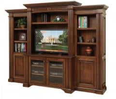 Lincoln Wall Unit w/Bookcase