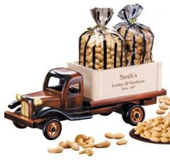 1950's Flat Bed Truck With Cashews And