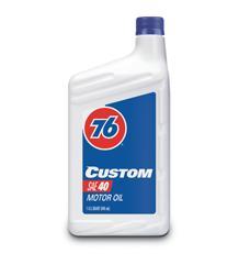 Custom Motor Oil