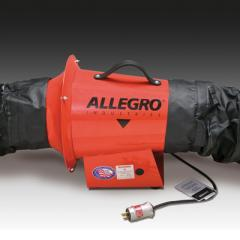 """8"""" AC Axial Explosion Proof Inline Booster Blower"""