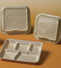 Post Consumer Recycled Material Food Packaging