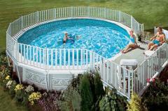 Coliseum™ Granite Round Pool